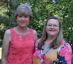 Julie Allen and Judy Elliott-Moore