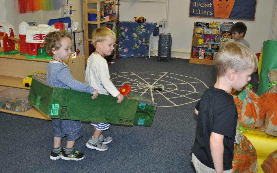 Kids at Play - Duke Memorial Weekday School, Durham NC