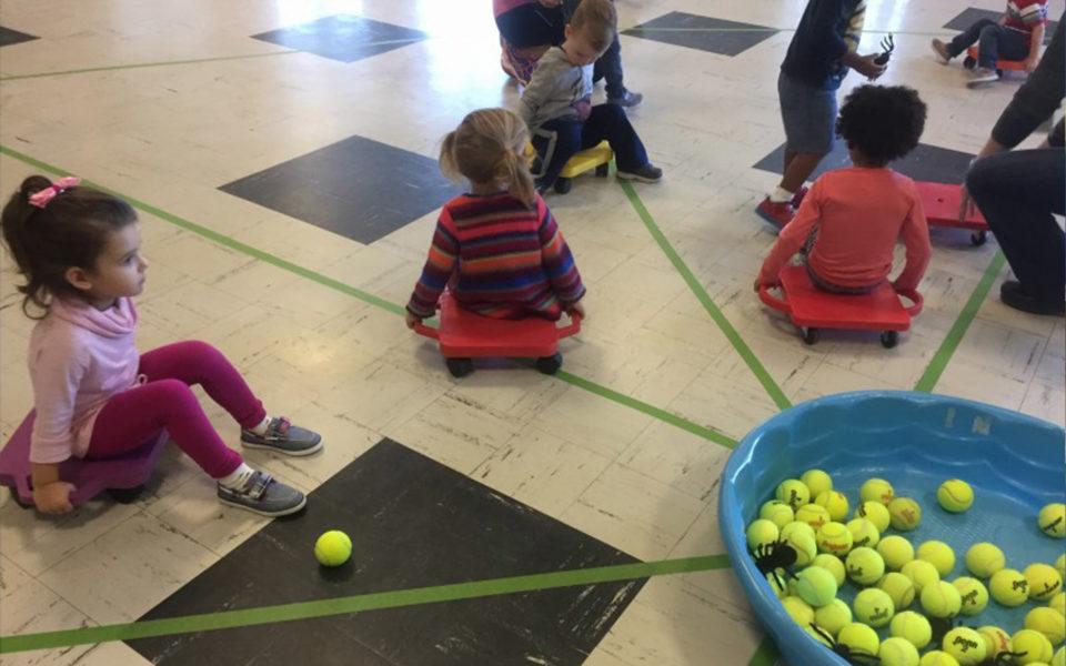 Fitness Fun at Duke Memorial Weekday School - Durham NC